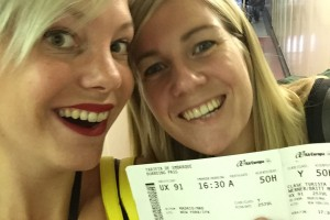 Blog 1: Britt & Lynn goes international
